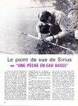 Sirius n° 13 « … sur une pêche en eau basse » (article paru dans l'ECHO DES PECHEURS, en nov. 1971) dans L'ancêtre de 'La musette à Matthieu' sirius-n13-sur-une-peche-en-eau-basse-page-1-110x150