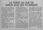 Sirius n° 18 « … sur les plombées » (article paru dans l'ECHO DES PECHEURS, en avr. 1969) dans L'ancêtre de 'La musette à Matthieu' sirius-n-18-sur-les-plombees-avril-2013-page-1-150x104